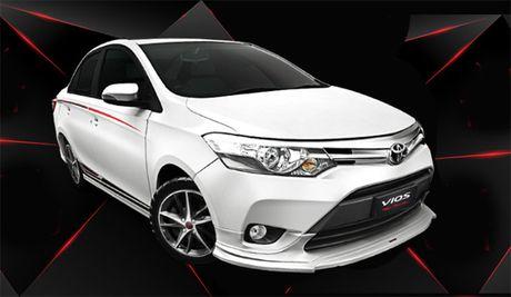 Toyota Viet Nam ra mat Vios moi gia 644 trieu dong - Anh 3