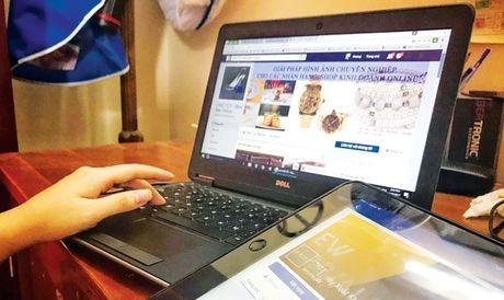 Hang van tai khoan kinh doanh online vao 'tam ngam' - Anh 1