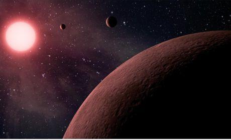 NASA cong bo tim thay 10 hanh tinh moi co su song nhu Trai dat - Anh 1