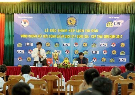 Hon 100 trieu dong tien thuong cho giai U17 Quoc gia - Anh 1