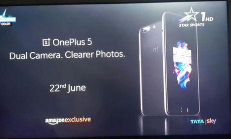 OnePlus 5 se dung Snapdragon 835, pin 4000 mAh - Anh 1