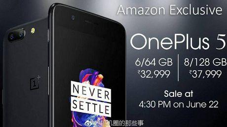 OnePlus 5 se dung Snapdragon 835, pin 4000 mAh - Anh 4