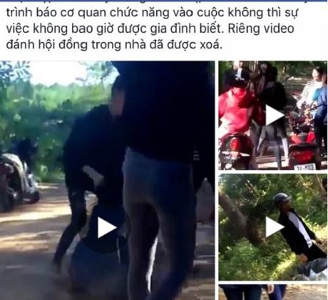 Quang Tri: Nu sinh bi danh hoi dong, quay clip phat tan tren mang - Anh 1