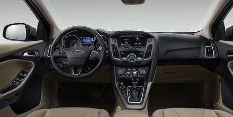 Lan dau tien Ford Focus 2018 de lo anh noi that - Anh 4