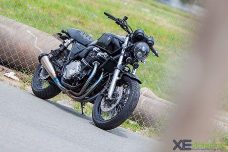 Honda CB1100 do hang 'khung', doc nhat Viet Nam - Anh 1