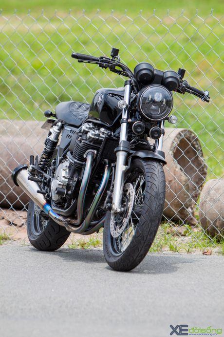 Honda CB1100 do hang 'khung', doc nhat Viet Nam - Anh 4