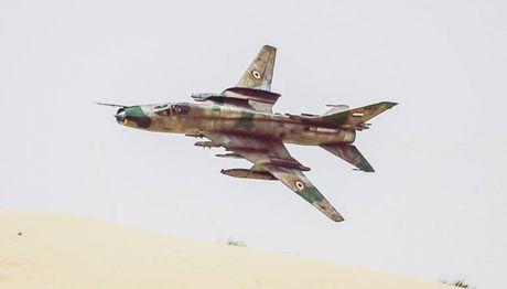 My ban ha Su-22M4 Syria: Da giai cuu duoc phi cong - Anh 1