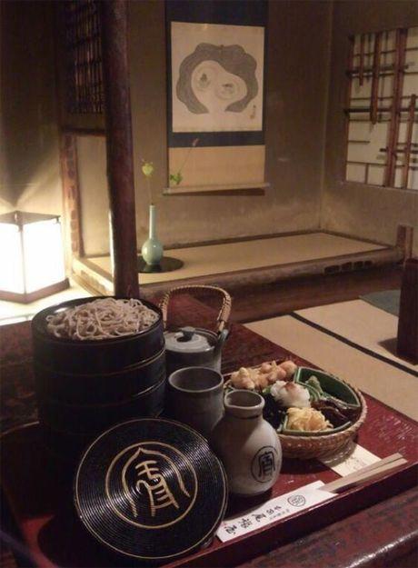 Nha hang my soba hon 550 tuoi - diem dung chan o co do Kyoto - Anh 5