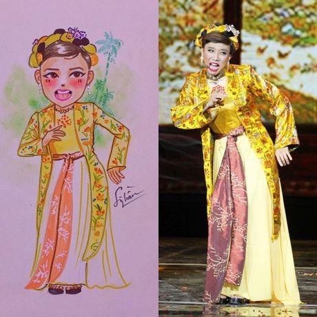 Hoai Linh, My Tam… cung dan sao Viet 'bien hoa' qua net ve chibi day nghe thuat - Anh 5