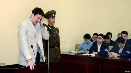 Ong Donald Trump do loi cho Trieu Tien ve cai chet cua cong dan My - Anh 1