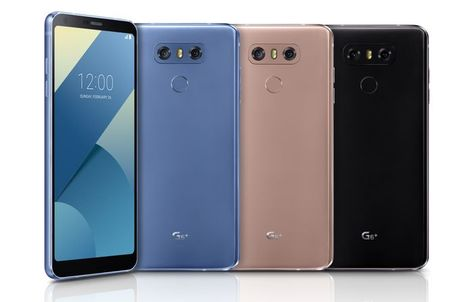 LG ra mat G6+ bo nho 128GB, mau sac va tinh nang moi cho G6 - Anh 1