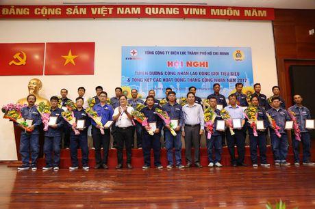 EVN HCMC tong ket chuong trinh 'Thang cong nhan' 2017 - Anh 1