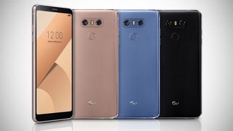 LG G6+ ra mat voi nhieu cai tien dang quan tam - Anh 1