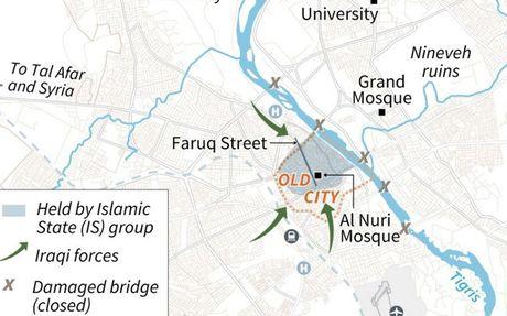 Quan Iraq ra toi hau thu voi IS 'dau hang hay la chet' o Mosul - Anh 3