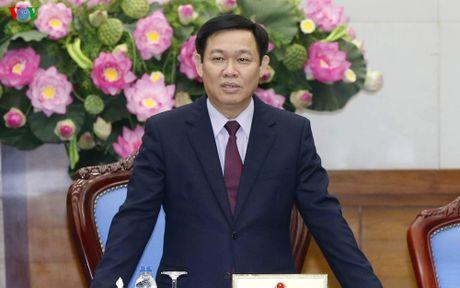 PTT Vuong Dinh Hue tiep doan dai bieu nguoi co cong tinh An Giang - Anh 1