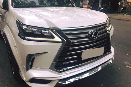 Xe sang Lexus LX570 gia 8 ty 'do khung' tai Sai Gon - Anh 4