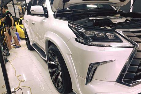 Xe sang Lexus LX570 gia 8 ty 'do khung' tai Sai Gon - Anh 5