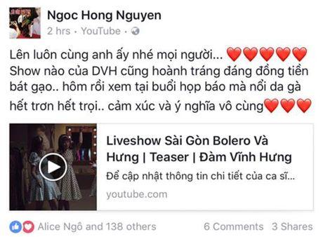 Thu Minh hao huc voi liveshow Bolero 'khung' cua Dam Vinh Hung - Anh 4