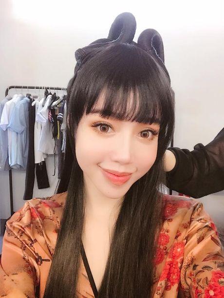 Fan mat ngu vi Elly Tran hoa Hang Nga 'nong ruc' - Anh 1