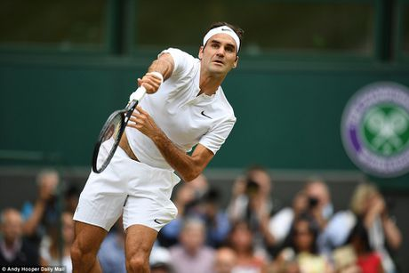 Vo dich Wimbledon, Roger Federer buoc vao top 3 the gioi - Anh 2