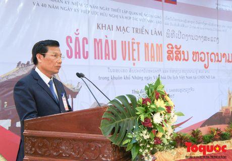 Khai mac trong the Nhung ngay Van hoa, Du lich Viet Nam tai Lao - Anh 6