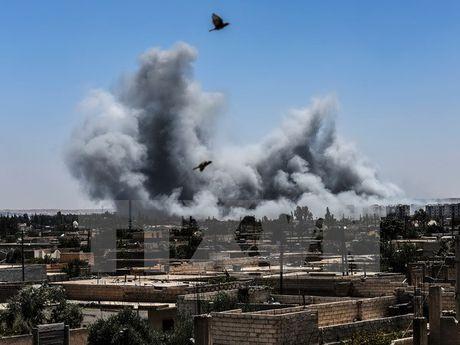 Danh bom lien tiep nham vao luc luong nguoi Kurd tai Hasakah - Anh 1