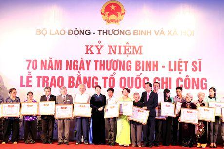Xuc dong le ton vinh nhung liet si hy sinh hang chuc nam truoc - Anh 1
