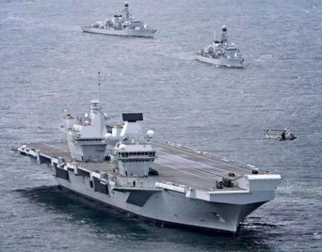 HMS Queen Elizabeth khong nhan duoc tin hieu cua F-35B - Anh 1