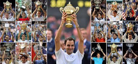 Federer vo dich Wimbledon: 'Chua te thoi gian', vua Grand Slam - Anh 2