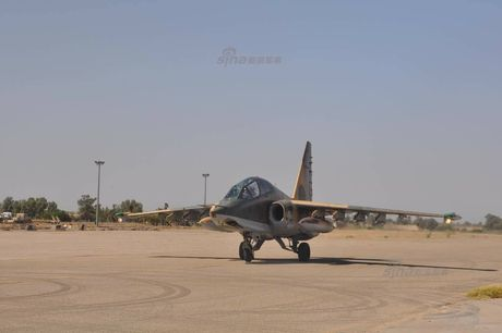 Bi an may bay cuong kich Su-25 Iran khong phu hieu - Anh 1