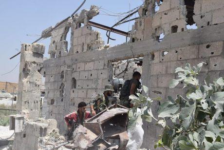 Dai thang, quan Syria hung huc khi the chien dau o Damascus - Anh 3