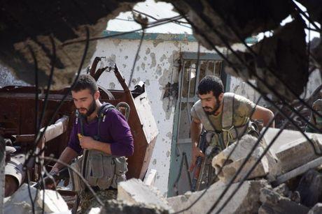 Dai thang, quan Syria hung huc khi the chien dau o Damascus - Anh 6