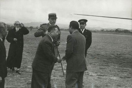 Anh doc ve cuu hoang Bao Dai o Lang Son nam 1950 - Anh 1