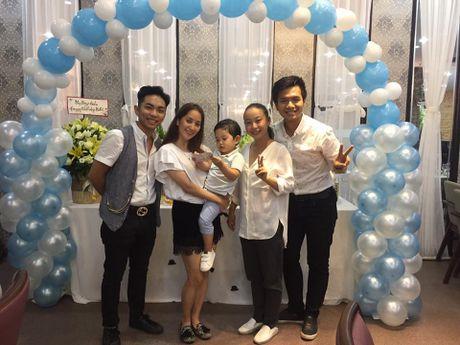 Khanh Thi - Phan Hien to chuc tiec sinh nhat 2 tuoi cho con trai - Anh 2