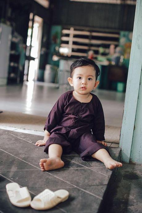 Khanh Thi - Phan Hien to chuc tiec sinh nhat 2 tuoi cho con trai - Anh 8