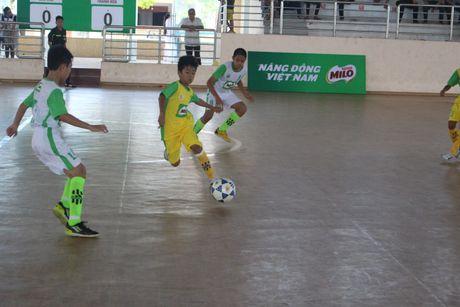 16 doi bong xuat sac vao tu ket giai bong da Hoi khoe Phu Dong cup MiLo nam 2017 - Anh 1