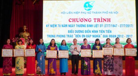 Bieu duong cac tap the, ca nhan trong phong trao 'Den on dap nghia' - Anh 1