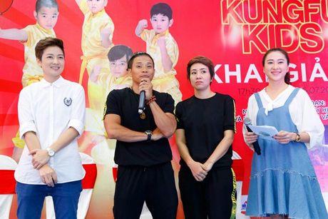 'Co gai vang Wushu' Thuy Hien tu tin do nhan sac U40 cung MC Thuy Trang - Anh 10