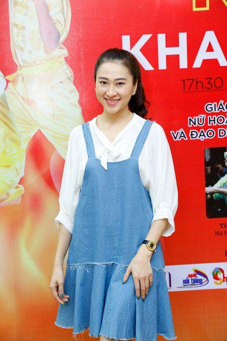 'Co gai vang Wushu' Thuy Hien tu tin do nhan sac U40 cung MC Thuy Trang - Anh 12