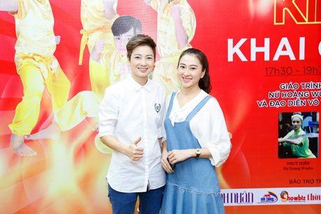 'Co gai vang Wushu' Thuy Hien tu tin do nhan sac U40 cung MC Thuy Trang - Anh 4
