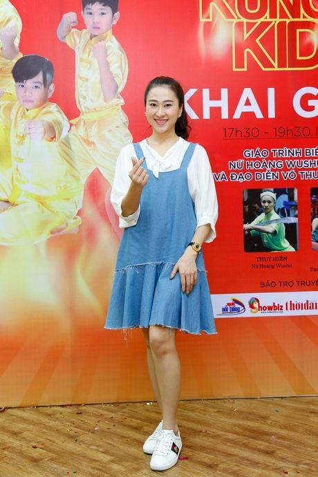 'Co gai vang Wushu' Thuy Hien tu tin do nhan sac U40 cung MC Thuy Trang - Anh 5