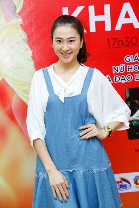 'Co gai vang Wushu' Thuy Hien tu tin do nhan sac U40 cung MC Thuy Trang - Anh 6