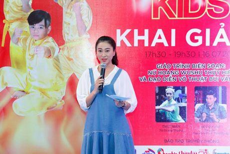 'Co gai vang Wushu' Thuy Hien tu tin do nhan sac U40 cung MC Thuy Trang - Anh 8