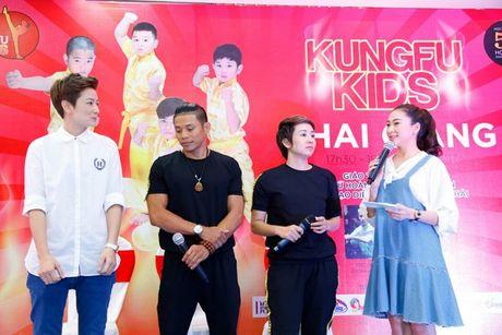 'Co gai vang Wushu' Thuy Hien tu tin do nhan sac U40 cung MC Thuy Trang - Anh 9