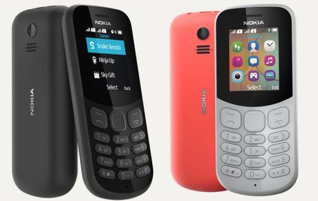 'Binh moi ruou cu' Nokia 130 va 105 2017 ra mat gia tu 350 ngan dong - Anh 2