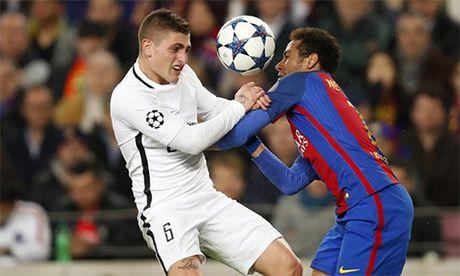 Bo Neymar gap Chu tich PSG vi con trai thay kho o tai Barca - Anh 2