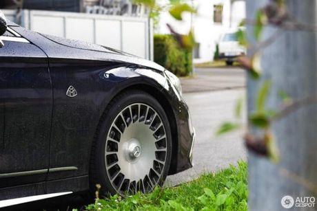 Chiem nguong ve dep cua xe sieu sang Mercedes-Maybach S650 Cabriolet tren duong pho - Anh 5