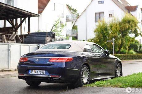 Chiem nguong ve dep cua xe sieu sang Mercedes-Maybach S650 Cabriolet tren duong pho - Anh 6