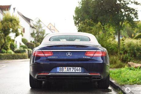 Chiem nguong ve dep cua xe sieu sang Mercedes-Maybach S650 Cabriolet tren duong pho - Anh 7