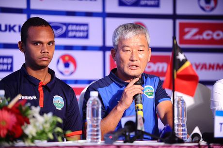 HLV Huu Thang: 'Chung toi ton trong moi doi thu tai Vong loai U.23 chau A' - Anh 2